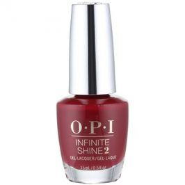 OPI Infinite Shine 2 lak na nehty odstín Malaga Wine 15 ml
