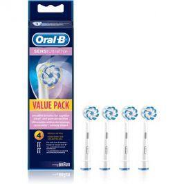 Oral B Sensitive UltraThin EB 60 náhradní hlavice pro zubní kartáček  4 ks