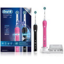 Oral B Smart 4 4900 DUO D601.525.3H elektrický zubní kartáček + náhradní držák