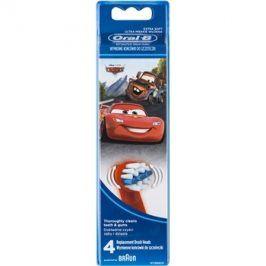 Oral B Stages Power EB10 Cars náhradní hlavice pro zubní kartáček extra soft  4 ks