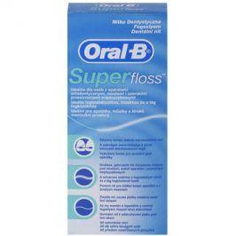 Oral B Super Floss dentální nit na rovnátka a implantáty  50 ks