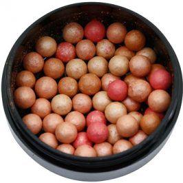 Oriflame Giordani Gold  bronzující pudr v kuličkách odstín Natural Peach 25 g