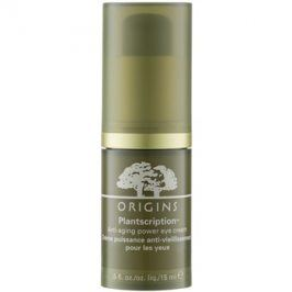 Origins Plantscription™ oční krém proti stárnutí  15 ml