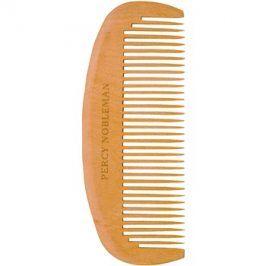 Percy Nobleman Beard Care dřevěný hřeben na vousy