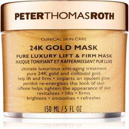 Peter Thomas Roth 24K Gold luxusní zpevňující maska na obličej s liftingovým efektem  150 ml