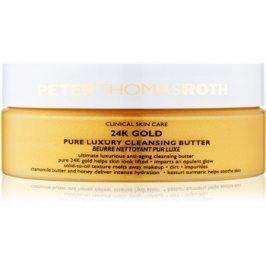 Peter Thomas Roth 24K Gold luxusní čisticí máslo proti příznakům stárnutí  150 ml