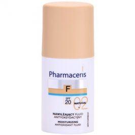 Pharmaceris F-Fluid Foundation hydratační make-up SPF 20 odstín 02 Natural  30 ml