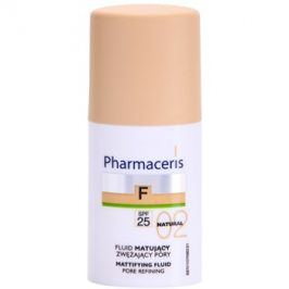 Pharmaceris F-Fluid Foundation matující fluidní make-up SPF 25 odstín 02 Natural  30 ml