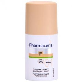 Pharmaceris F-Fluid Foundation matující fluidní make-up SPF 25 odstín 01 Ivory  30 ml