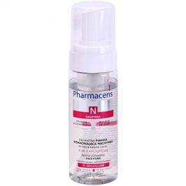 Pharmaceris N-Neocapillaries Puri-Capiliqmousse čisticí a odličovací pěna na rozšířené a popraskané žilky  150 ml