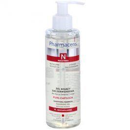 Pharmaceris N-Neocapillaries Puri-Capilium zklidňující čisticí gel pro citlivou a zarudlou pleť  190 ml