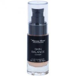 Pierre René Face Skin Balance voděodolný fluidní make-up pro dlouhotrvající efekt odstín 21 Porcelain 30 ml