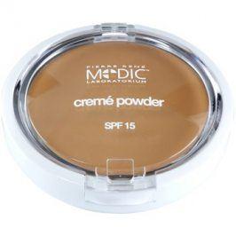 Pierre René Medic Laboratorium krémový pudr se zrcátkem a aplikátorem SPF15 odstín 02 Light Beige  7 g