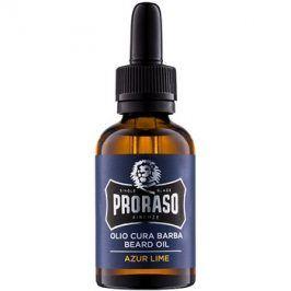 Proraso Azur Lime olej na vousy  30 ml