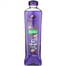 Radox Feel Restored Feel Relaxed pěna do koupele Lavender & Waterlilly 500 ml