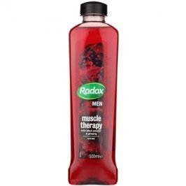 Radox Men Muscle Therapy pěna do koupele Black Pepper & Ginseng 500 ml