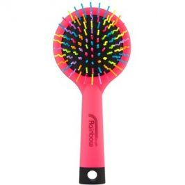 Rainbow Brush Large kartáč na vlasy se zrcátkem Pink