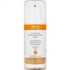 REN Radiance exfoliační maska pro rozjasnění pleti  50 ml