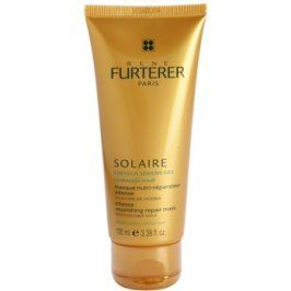Rene Furterer Solaire intenzivní vyživující maska pro vlasy namáhané chlórem, sluncem a slanou vodou  100 ml