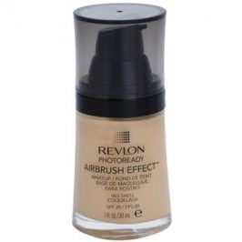 Revlon Cosmetics Photoready Airbrush Effect™ tekutý make-up SPF 20 odstín 003 Shell 30 ml