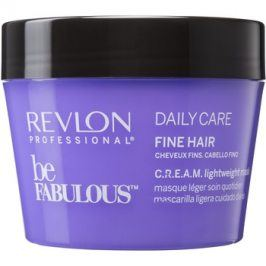 Revlon Professional Be Fabulous Daily Care regenerační a hydratační maska pro jemné vlasy  200 ml
