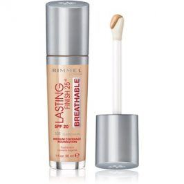 Rimmel Lasting Finish 25H Breathable tekutý make-up SPF 20 odstín 101 Classic Ivory 30 ml