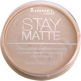 Rimmel Stay Matte pudr odstín 009 Amber  14 g