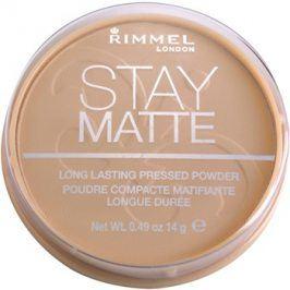 Rimmel Stay Matte pudr odstín 004 Sandstorm  14 g