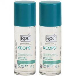 RoC Keops deodorant roll-on 48h  2x30 ml
