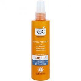 RoC Soleil Protect ochranné hydratační mléko ve spreji SPF30  200 ml