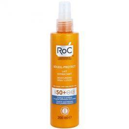 RoC Soleil Protect ochranné hydratační mléko ve spreji SPF50+  200 ml