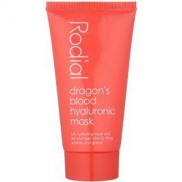 Rodial Dragon's Blood intenzivní vyplňující a hydratační gelová maska na obličej  50 ml
