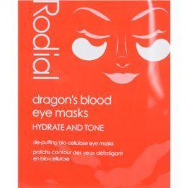 Rodial Dragon's Blood oční maska proti otokům a tmavým kruhům  8 ks