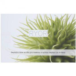 RYOR Depilation and Shaving depilační fólie na tělo pro snadnou a rychlou depilaci za studena  10 ks