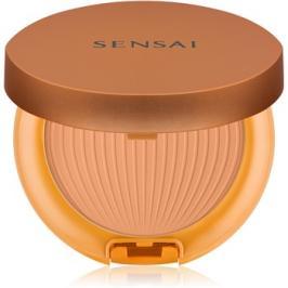 Sensai Silky Bronze ochranný voděodolný opalovací pudr SPF30 SC04 Dark  8,5 g
