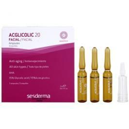 Sesderma Acglicolic 20 Facial protivráskové sérum s peelingovým efektem  5 x 2 ml