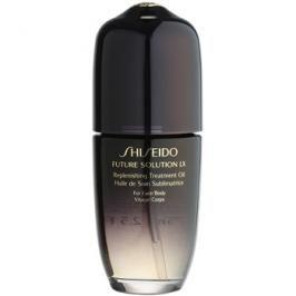 Shiseido Future Solution LX pečující olej na tělo a obličej  75 ml