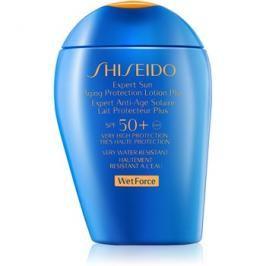 Shiseido Sun Protection opalovací mléko na obličej a tělo SPF50+  100 ml