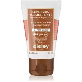 Sisley Sun ochranný tónovací krém na obličej SPF30 odstín 4 Deep Amber  40 ml
