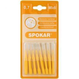 Spokar Classic mezizubní kartáčky 8 ks Midi 0,7 mm/3,5 mm