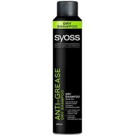 Syoss Anti Grease suchý šampon  200 ml