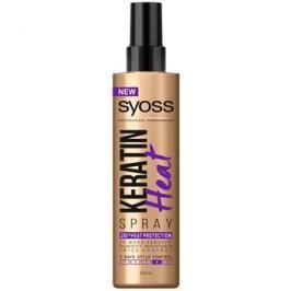 Syoss Keratin ochranný sprej pro tepelnou úpravu vlasů  200 ml
