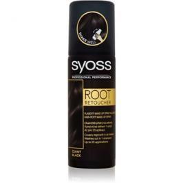 Syoss Root Retoucher tónovací barva na odrosty ve spreji odstín Black 120 ml