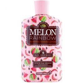 Tannymaxx 6th Sense Melon Rainbow zeštíhlující opalovací krém do solária pro tmavé opálení  200 ml