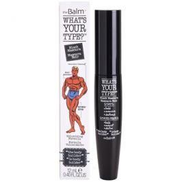 theBalm What's Your Type? řasenka pro objem odstín Black 12 ml