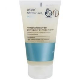 Tołpa Dermo Face Sebio čisticí gel s peelingovým efektem  150 ml