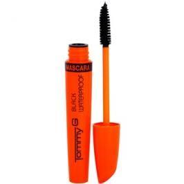 Tommy G Eye Make-Up Super Color voděodolná řasenka pro objem a zahuštění řas odstín Black 7 ml
