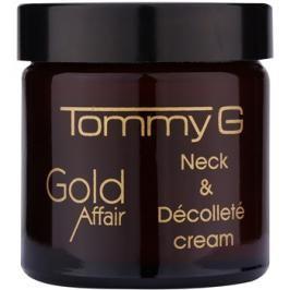 Tommy G Gold Affair omlazující krém na krk a dekolt  60 ml