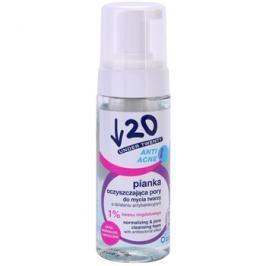 Under Twenty ANTI! ACNE čisticí pěna s antibakteriálním účinkem  150 ml
