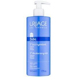 Uriage 1érs Soins Bébés hydratační mléko na tělo a obličej pro děti od narození  500 ml